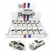 Miniatura Volkswagen Fusca Herbie 53 Escala 1:32