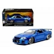Brian's Nissan Skyline Gtr R34  Velozes & Furiosos Jada Toys 1:24
