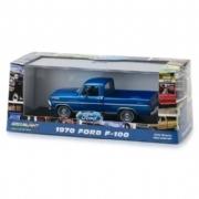 Miniatura Ford F-100 1970 Azul 1:43 Greenlight