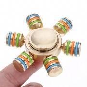 Fidget Spinner Alumínio Anti-Stress - Leme Barco