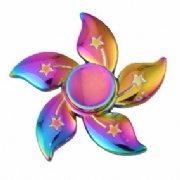 Fidget Spinner Alumínio Anti-Stress - Flor