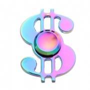 Hand Spinner Alumínio Anti-Stress - Dólar $