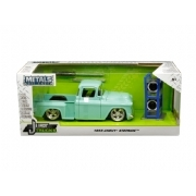 Miniatura Chevy Stepside 1955  Just Trucks Jada Toys 1:24