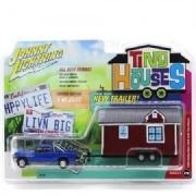 Miniatura Dodge Ram 1500 Johnny Lightning Tiny Houses 1:64