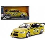 Brian′s Mitsubishi Lancer Evolution VII Velozes &Furiosos Jada Toys 1:24