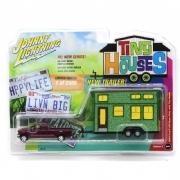 Miniatura Ford F-250 2004 Johnny Lightning Tiny Houses 1:64