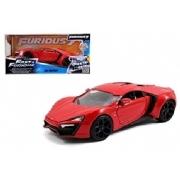 Lykan Hyper Sport Velozes &Furiosos Jada Toys 1:24
