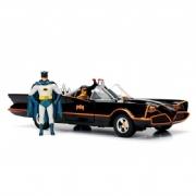 Miniatura Batmobile Tv Series Classic Jada Toys 1:24 Die Cast Metals