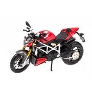 Miniatura Moto Ducati Streetfighter S 1:12 - Maisto
