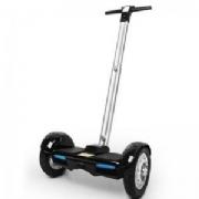 Hoverboard Scooter 10 Polegadas Pro-Move C/Pedestal Preto Liso Led/Bluetoot