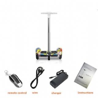 Hoverboard Scooter 10 Polegadas Pro-Move C/Pedestal Colorido - LED/Bluetooth