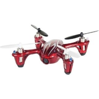 Drone Hubsan X4C H107C com Câmera - Vermelho