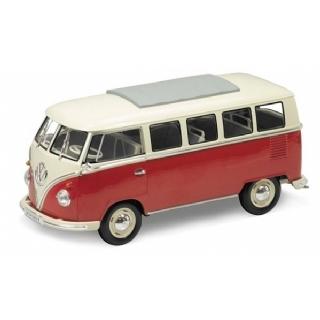 Miniatura Volkswagen Kombi T1 Bus - Escala 1:18